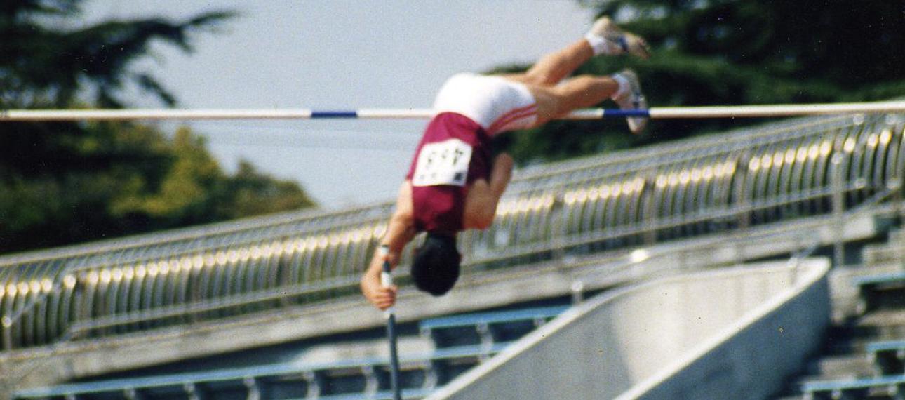 早稲田大学競争部時代